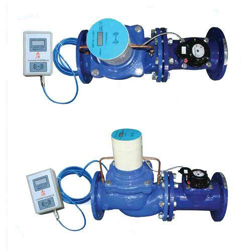 LXSGDG-50-300旋翼式蝶阀灌溉水表